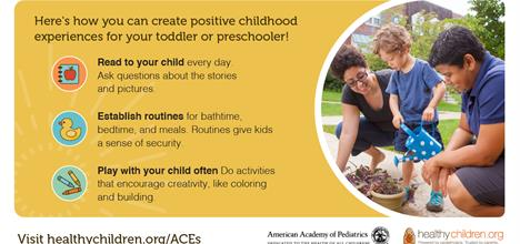 Creating Positive Experiences for Toddlers & Preschool-Age Children