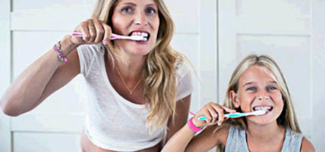 Brushing for Two: How Your Oral Health Affects Baby