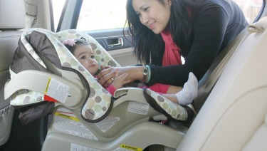 Are You Using Your Rear-Facing-Only Car Seat Safely?